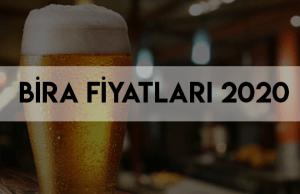 bira fiyatları 2020