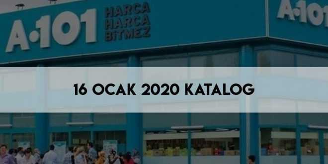 A101 16 Ocak 2020 Aktüel Kataloğu