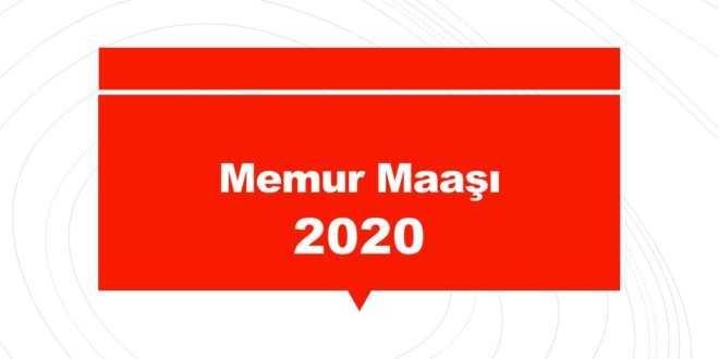 Memur maaşı 2020