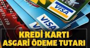 Kredi kartı faizleri değişikliğe gidildi asgari ödeme tutarı oranı düştü