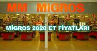 Migros et fiyatları 2020 Güncel Fiyatlar