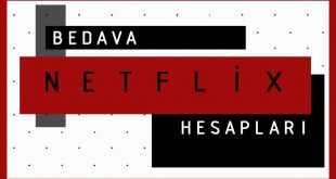 Netflix Bedava Premium Hesaplar (Ücretsiz) 2021